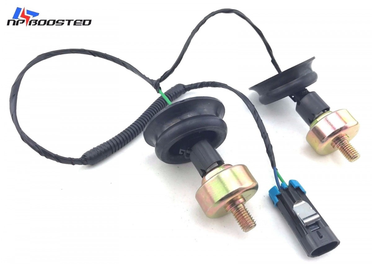 97-04 GMC KNOCK SENSORS w/ WIRE HARNESS KIT & CONNECTORS FOR