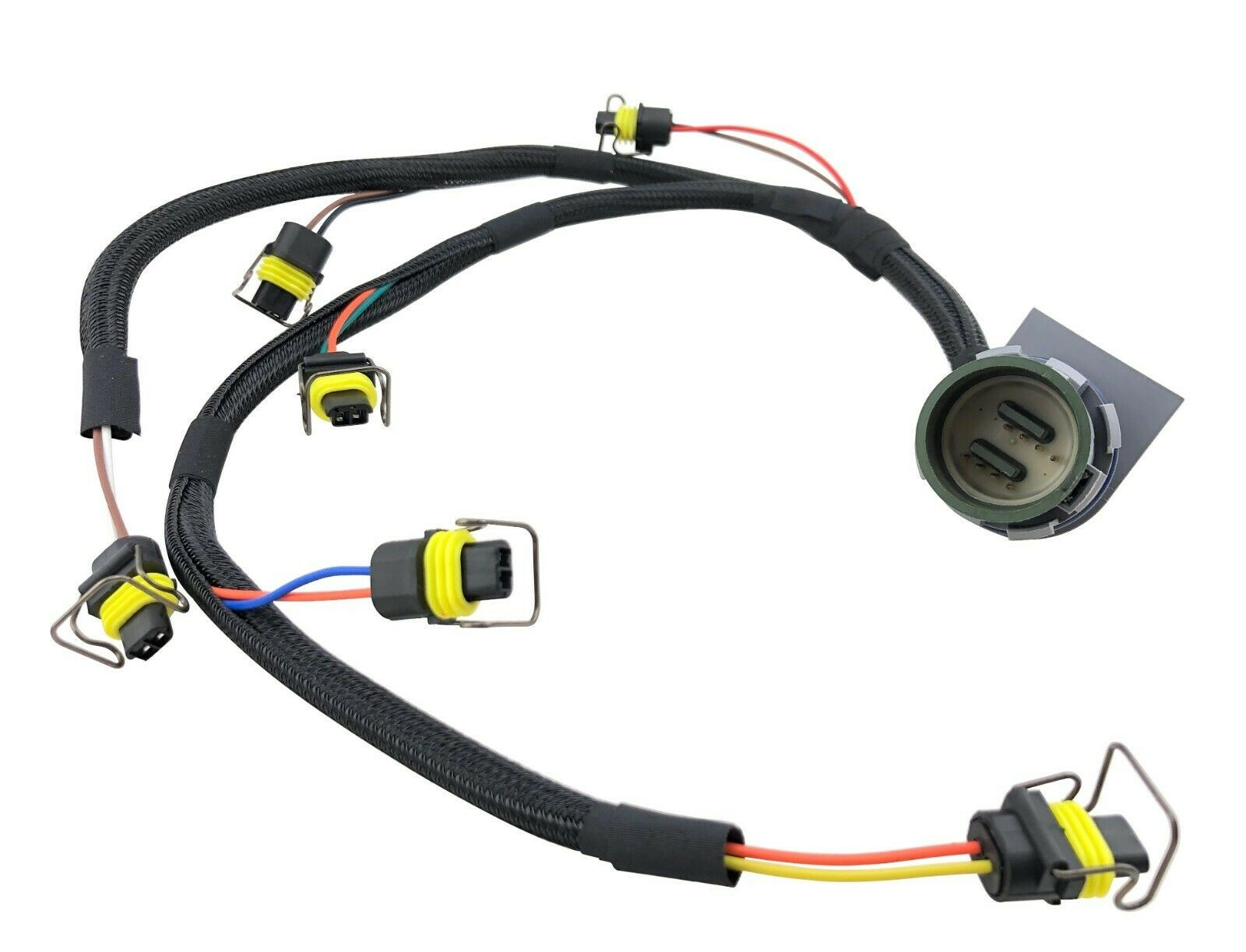 8 Pin Connector Fuel Injector Wiring Harness for Perkins 1206 Diesel 6 Cylinder