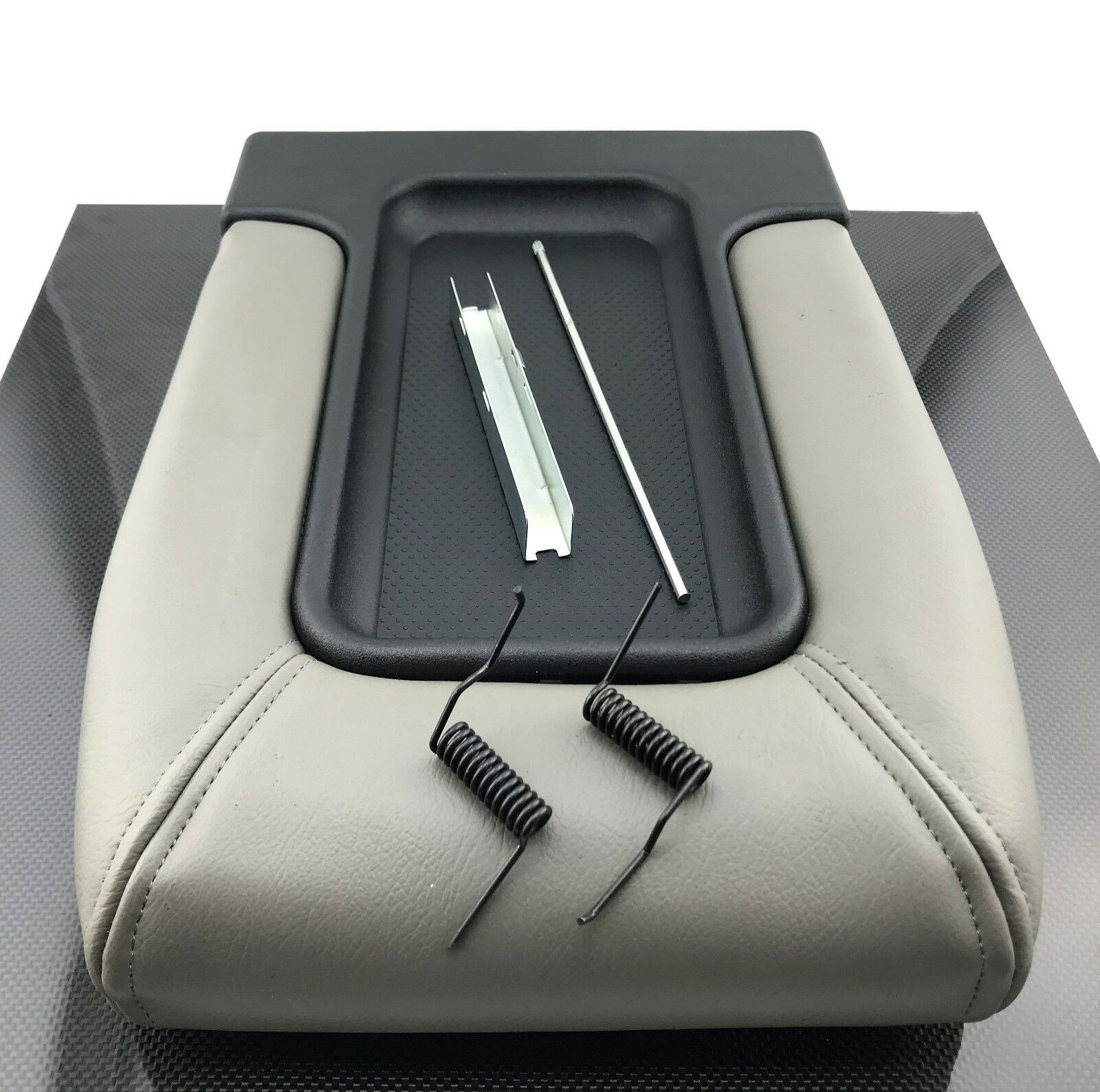 Center Console Armrest Light Gray GMC Sierra Chevrolet Silverado Tahoe Yukon XL