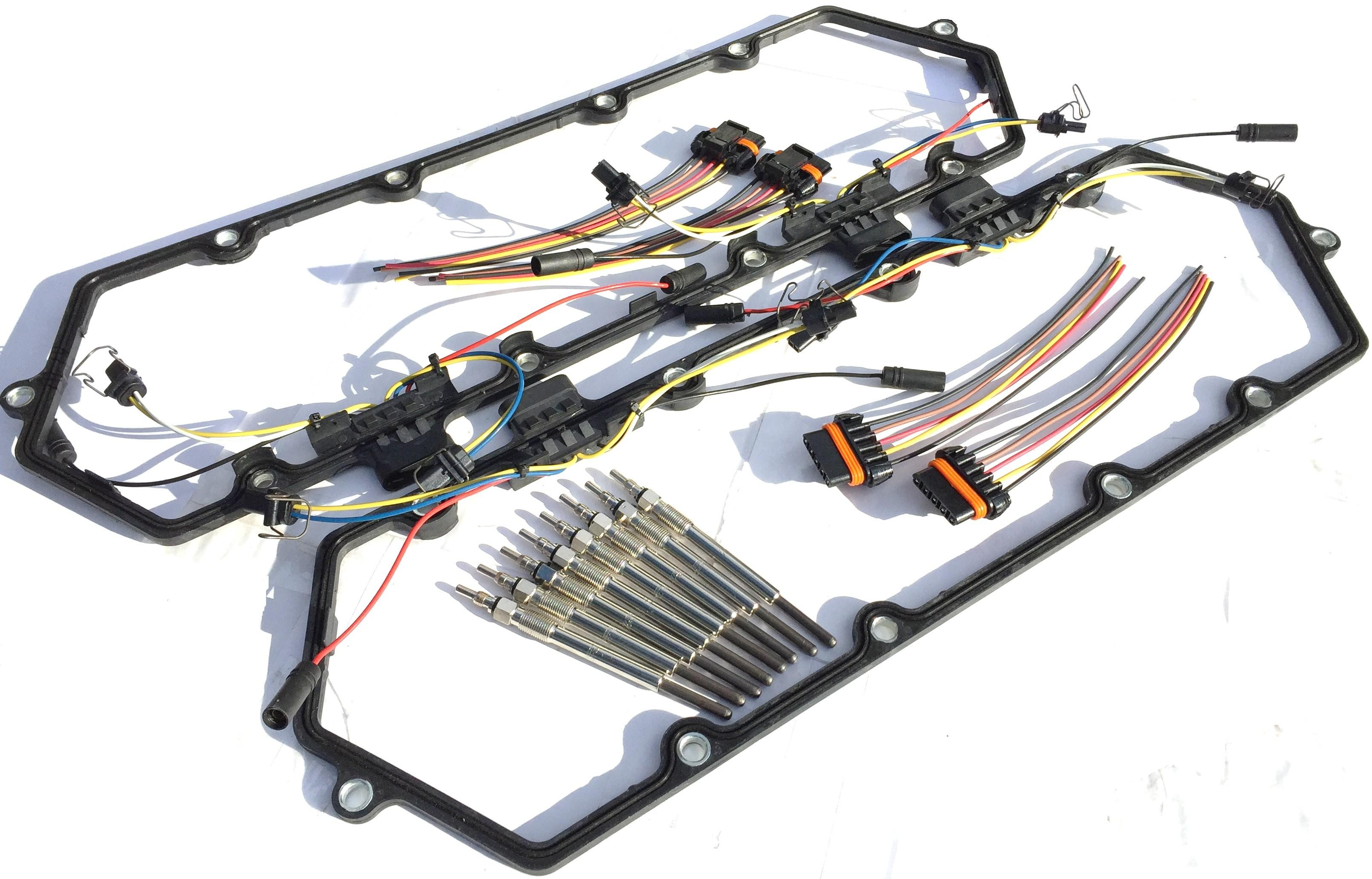 Ford 7 3 L Glow Plug Wiring Harness Books Of Diagram Idi 1994 1997 Powerstroke 3l Diesel Plugs Kit