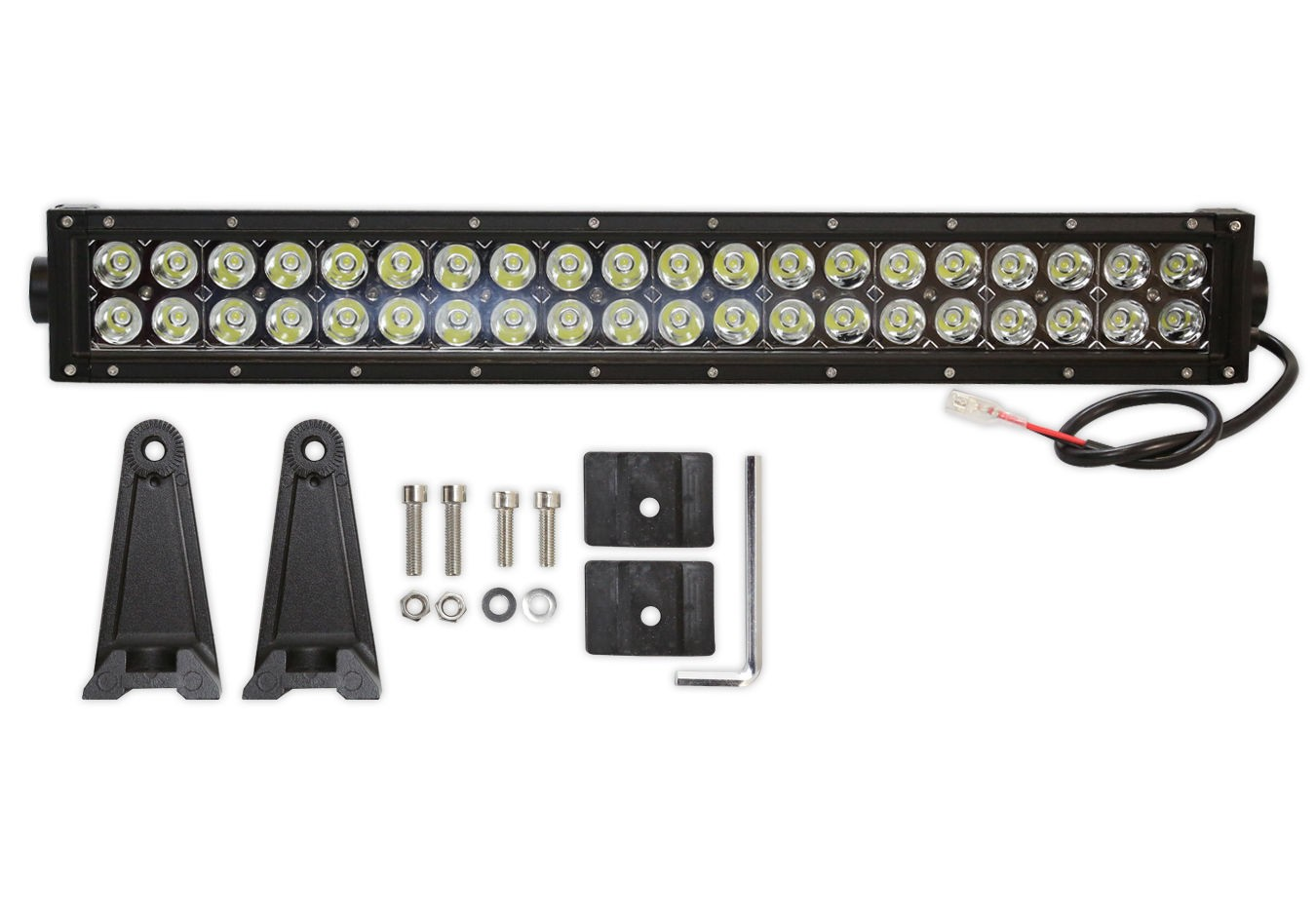 "22"" Inch 120W LED Spot Light Bar For a SUV ATV / Truck / Boat / Machine With wire harness"