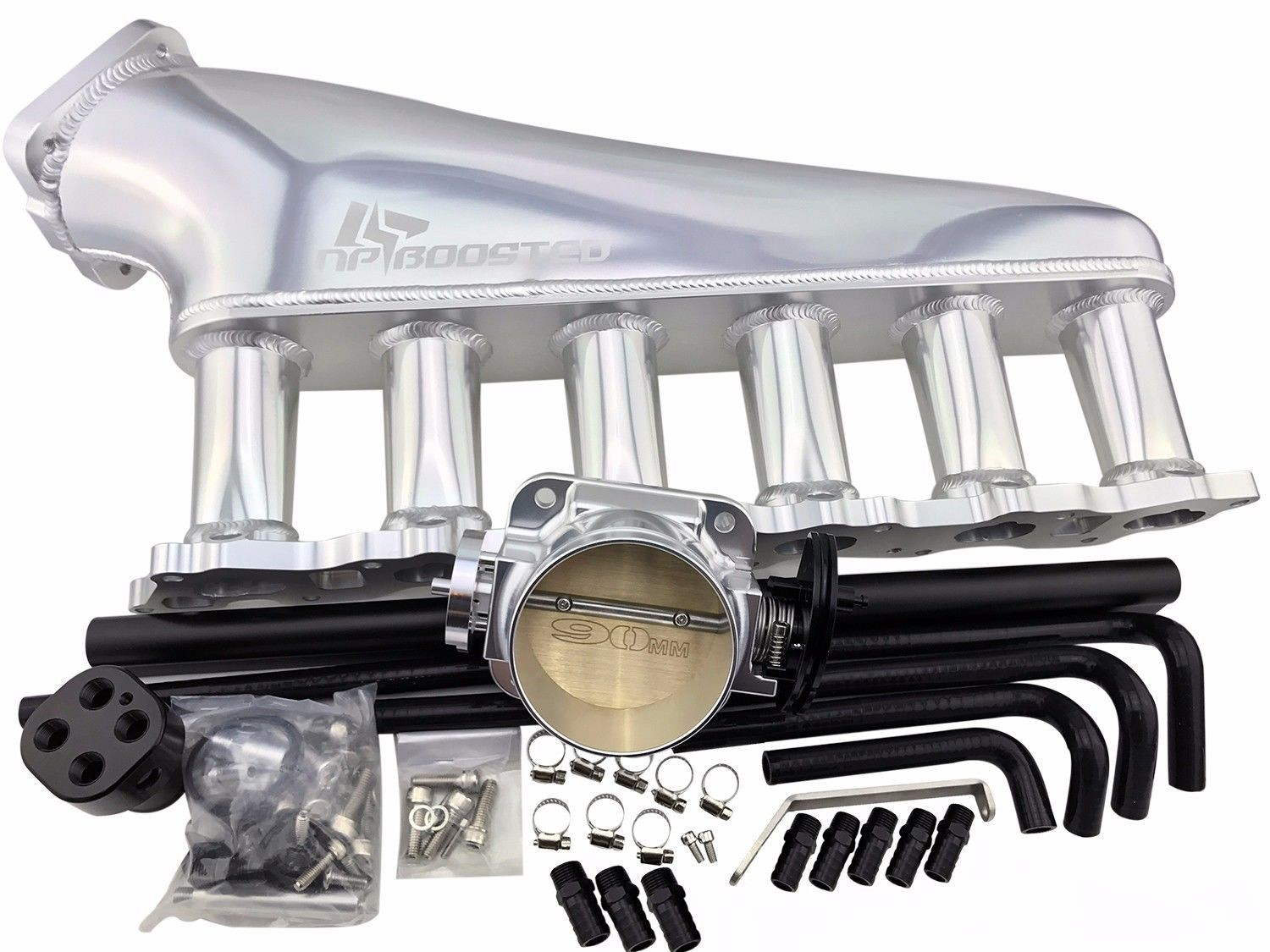 1989-1994 SKYLINE RB20DET INTAKE MANIFOLD KIT 90MM THROTTLE BODY CEFIRO LAUREL