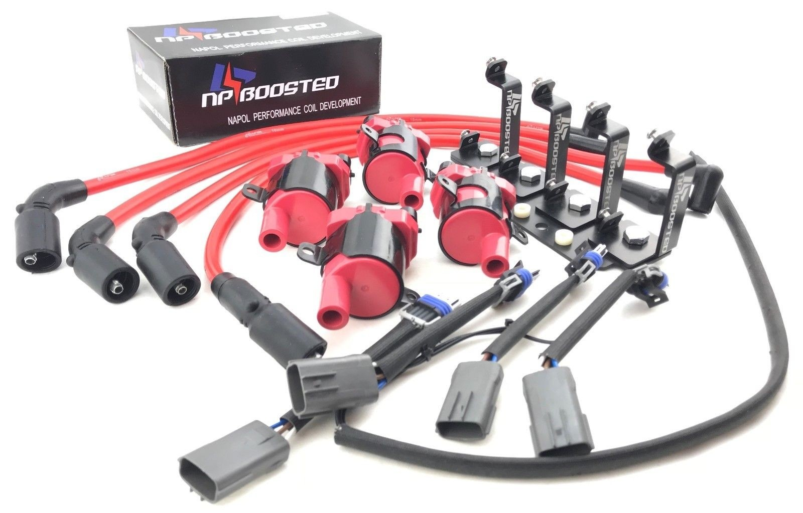 Mazda Rx 8 Rx8 D585 Ignition Coil Packs Kit Wires W Harness Tool Wire Mounting Bracket