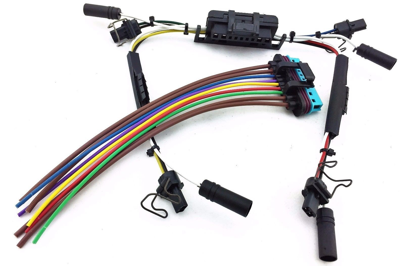 ford f 250 wiring harness repair kits 97-03 ford f-250 f-350 f250 f350 glow plugs & injector ... #5
