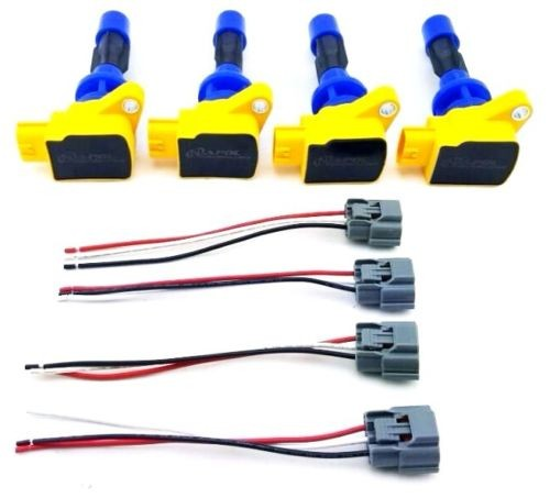4 pcs 2006 2010 ignition coil packs wire harness repair kit speed rh napolperformance com wiring harness repair kit 2000 dodge stratus wiring harness repair kit ford