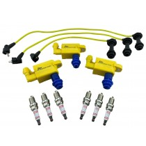 Ignition Coil Packs Wires Spark Plugs for Supra Aristo Soarer IS300 VVTi 1JZ 2JZ