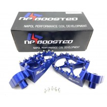 DIRT BIKE RACING WIDE FOOT PEGS FOOTREST YAMAHA FX WR WRF YZ YZF 85 125 250 450