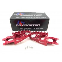 Racing Foot Pegs Footrests WIDE For Honda CRF150R CR125R 250 CRF250R R/X CRF450R