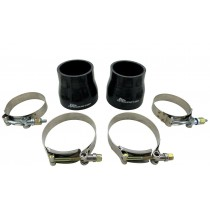 """3.5"""" to 3"""" Reducer Intercooler Coupler Boots Turbo Pipe Air Intake T-Bolt Clamps"""