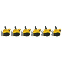 6 Pack Ignition Coils for 97-05 Allroad S4 A6 2.7L Turbo A8 3.7L 4.2L V8 Quattro