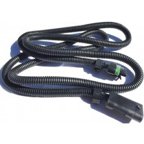 "GM 6.5L TURBO DIESEL PMD FSD BLACK MODULE 64"" RELOCATION EXTENSION HARNESS CABLE"