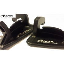 MAZDA RX-7 1993-2002 FD RX7 BLACK ALUMINUM DOOR HANDLES SET JDM FD3S R1 TURBO /  Free shipping in US & Canada !