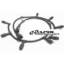 2004-2010 FORD SD 6.0L DIESEL GLOW PLUG WIRING HARNESS PAIR - LEFT + RIGHT