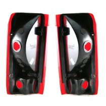 Taillights Taillamps Rear Brake Lights Pair Set for Ford F-Series Truck
