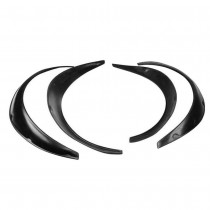 Universal Car Fender Flares 4 Piece Flexible Durable Polyurethane Body Kit