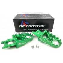 2006+ Racing Green XD WIDE FOOT PEGS Kawasaki KX250F KX450F FOOTPEGS KX250 KX450