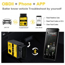 Universal Vehicle OBD2 WIFI Scanner & Performance Reading Tool for iPhone / Ipad IOS & Android Phone Auto OBDII Scan Tool OBD 2 ODB II WI-FI ODB2