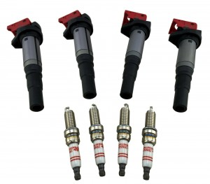 Ignition Coil Packs & Spark Plug for 07-16 Mini Cooper S 1.6L Countryman Clubman