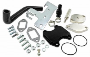 COMPLETE EGR DELETE KIT FOR 2010-2014 DODGE RAM 2500 3500 6.7L L6 DIESEL CUMMINS