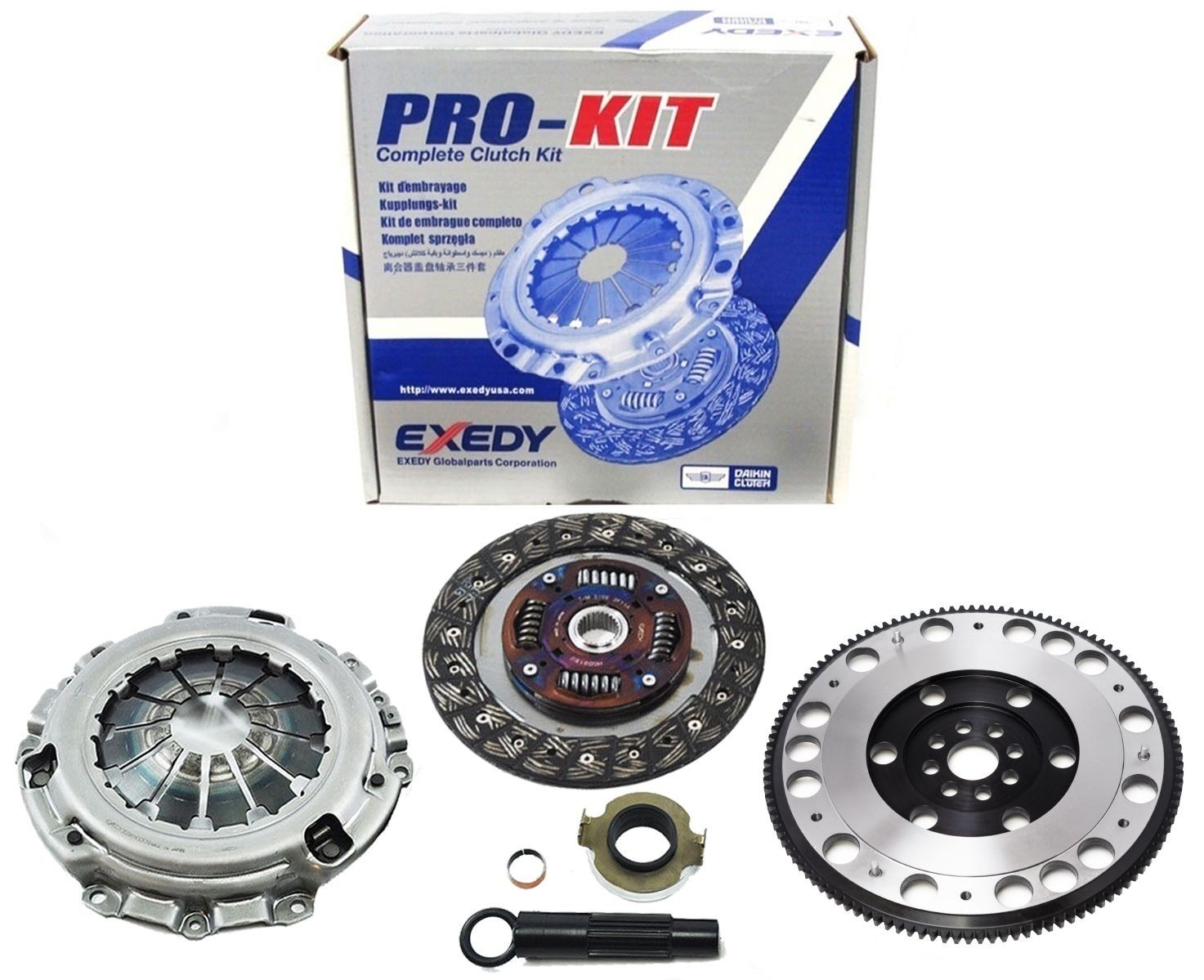 Honda Accord Flywheel Exedy Clutch Pro Kit Racing Chromoly Civic Si K20 6 Speed 20l